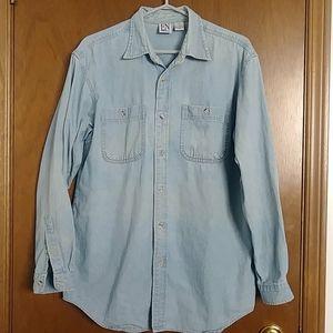Oversized Boyfriend light blue Jean Shirt